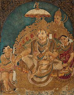 Rama rajya. Mysore style. Circa 20th century.