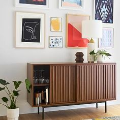 west elm offers stylish modern furniture for every room. Shop affordable contemporary furniture, including sofas, headboards, dining tables, and more. Decor, Expandable Dining Table, Slat Sideboard, Modern Buffet, Furniture, Buffet Cabinet, Home Decor, Sideboard Furniture, Table Linens