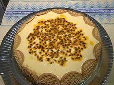 tarte holandesa de maracujá com chocolate meio amargo