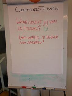 Waar geniet jij van in Tilburg? En wat vertel je vol enthousiasme aan anderen? #genieten #delen