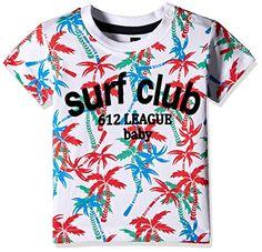 612 League Baby Boys' T-Shirt (ILS17I35002-6 - 12 Months-WHITE)