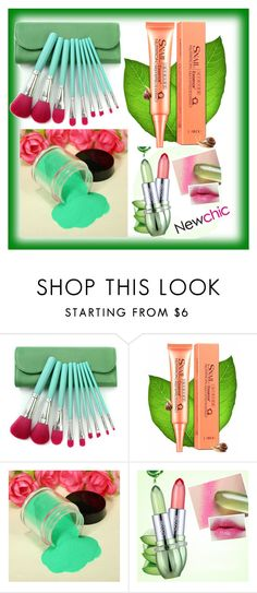 """""""Newchic25"""" by merisa-imsirovic ❤ liked on Polyvore featuring beauty"""