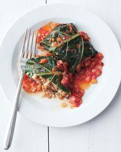 Stuffed Collard Greens, via Martha Stewart, at This Mama Cooks! On a Diet - thismamacooks.com