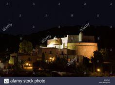 Image result for santa eulalia church night view ibiza Ibiza, Santa, Stock Photos, Mansions, Night, House Styles, Image, Manor Houses, Villas