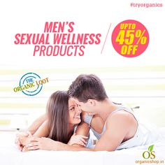 Get UPTO 45% OFF on Men's Sexual Wellness Products. All Natural, Herbal & Ayurvedic Remedies for Men's Sexual Health: #tryorganics at #TheOrganicLoot