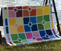 beautiful solids quilt