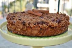 עוגת תפוחים ושיבולת שועל מנצחת של אלונה זהר