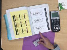 Segments in Circles Foldable Geometry Interactive Notebook, Teaching Geometry, Interactive Notebooks, Algebra 2, Secondary Math, High School Classes, Student Teaching, Math Classroom, Office Phone