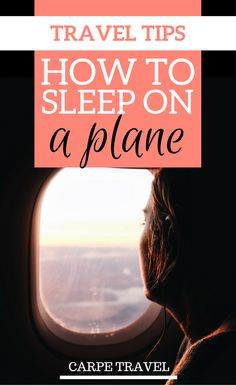 Is travel by plane uncomfortable for you too? Here you'll find tips on how to sleep on a plane and make sure your flight is as comfortable as possible | Plane hacks | How to sleep on a plane long flights - via @elainschoch