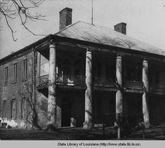 Judge Chretien's home near Shuteston Louisiana in the :: Louisiana Works Progress Administration (WPA): Southern Plantation Homes, Southern Mansions, Southern Homes, Plantation Houses, Southern Charm, Old Mansions, Abandoned Mansions, Abandoned Houses, Old Houses