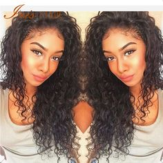 Wet And Wavy Glueless Full Lace Human Hair Wigs For Black Women Brazilian Virgin…