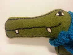Clive crocodile soft toy