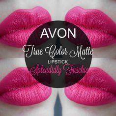 mela-e-cannella: Avon True Color Matte Lipstick - Splendidly Fuschia