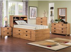 Driftwood 8-Piece Captains Bedroom Package | The Brick