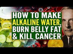 Alkalisch water doodt kanker- Hier is hoe het te maken (video) Prostate Cancer Prevention, Cervical Cancer, Natural Cancer Cures, Natural Cures, Natural Healing, Make Alkaline Water, Alkaline Foods, Cancer Fighting Foods, Cancer Facts
