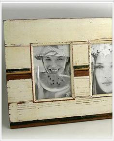 picture frames made out of old wood | Framed On Madison: Collage and Multiphoto Picture Frames