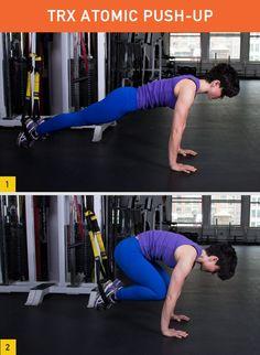 45 Insanely Effective TRX Exercises #TRX #fitness