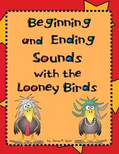 I LOVE this activity!  The children will get a Looney Bird