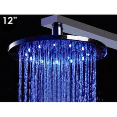 Alfi Brand 12'' Multi Color LED Rain Shower Head