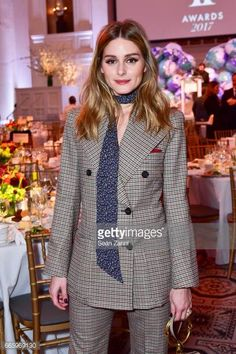 Olivia Palermo attends the Fragrance Foundation Finalists' Luncheon at 583 Park Avenue on April 7 2017 in New York City