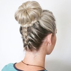 Upside Down Dutch Braid into a Braided Bun by anniesforgetmeknots https://www.youtube.com/watch?v=iuRbem_Z3kE