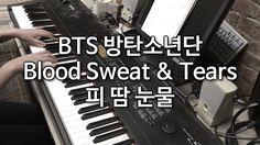 BTS (방탄소년단) - 피 땀 눈물 (Blood Sweat & Tears) Piano Cover 피아노 커버