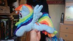Rainbow Dash Beanie Plush by Tazimo.deviantart.com on @DeviantArt