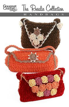Crochet Fancy Bags : 1000+ images about Crochet Bags and Baskets on Pinterest Crochet ...