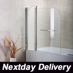 longer length shower screen