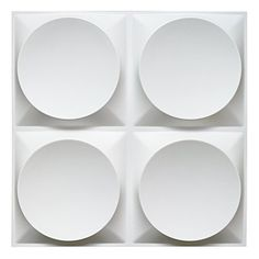 """Art3d White Wall Panels Moden 3D Wall Decor, Moon Surface Design, 12 Tiles 32 SF  Comes with 12 pieces of white 3d wall panels, total covers 32.3 square feet; size of each tile: 19.7"""" x 19.7""""  Comes in matte white color, paintable with any household paint  Thickness: 0.05 inch (1.2mm); Embossed thickness: approximately 1 inch (25 mm)  Water-proof, can be cleaned with damp cloth, can be used in interior wall decoration or exterior wall decoaration  Favorite application places include th..."""
