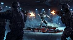 """cyberclays: """" Triborg - by Grzegorz Rutkowski """"Images I did for Mortal Kombat X. Animated by Powerhouse Animation Studios."""" Animation [here] """" Pure badass Triborg! Love the artwork in this ending. Fantasy Art Men, Dark Fantasy, Sci Fi Armor, Science Fiction Art, To Infinity And Beyond, Cthulhu, Mortal Kombat, Photo Art, Concept Art"""