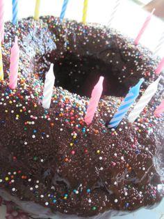 Chocolate Banana Birthday Cake | Moore or Less Cooking Food Blog