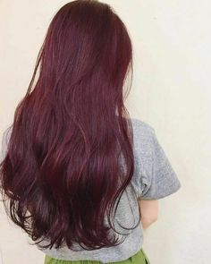 Ugeat Real Thick Double Weft Clip in Hair Extensions Red Wine Color – Ugeat hair – Hair Red Natural Red Hair Dye, Dyed Red Hair, Hair Color Streaks, Red Hair Color, Color 2, Burgundy Red Hair, Brown Hair, Magenta Hair, Violet Hair