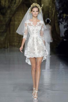I love this wedding dress just put longer at the back