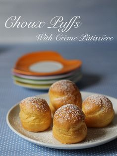Tried & Tested: Choux Puffs With Crème Pâtissière. Verdict: love the creme as well as the choux puffs. But i recommend to double the recipe for the custard as its not enough to fill up the pastry.