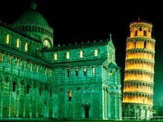 Many people are familiar with the Leaning Tower of Pisa, one of the most famous buildings in the world. Construction began on the Tower in 1173 and took place in three stages over 177 years but the structure had already begun to sink into the unstable soil by 1178. Before restoration work took place between 1990 and 2001, the tower leaned at an angle of 5.5 degrees, but this has now been reduced to just under 4 degrees.