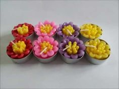 Handmade Tealight Candles we are looking for dealer all over the world Chiang Mai art Candle