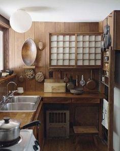 30 Luxury Japanese Kitchen Style Decoration Ideas For You Deco Design, Küchen Design, Home Design, Design Ideas, Design Room, Asian Kitchen, Japanese Kitchen, Small Japanese House, Japanese Style House