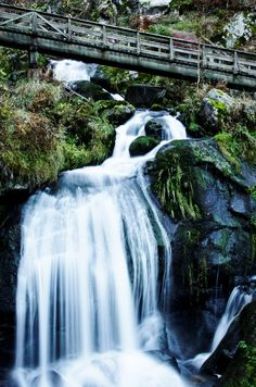 Triberg Falls,Germany, these falls were beautiful (been)