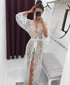 See through Bridal Nightgown with Lace Sheer Lingerie, Bridal Lingerie, Wedding Lingerie, Honeymoon Lingerie, Bridal Shower Gift Click Pic for the Hottest Lingerie Online Wedding Night Lingerie, Honeymoon Lingerie, Wedding Lingerie, Pretty Lingerie, Sheer Lingerie, Beautiful Lingerie, Purple Lingerie, Bridal Nightgown, Lace Nightgown