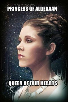 GRS says: Hello lovely Princess Leia. I miss you so muc - Star Wars Princesses - Ideas of Star Wars Princesses - GRS says: Hello lovely Princess Leia. I miss you so muc Carrie Fisher, Star Wars Poster, Star Wars Art, Star Trek, Stanley Kubrick, Chewbacca, Cello, Johnlock, Destiel