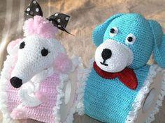 Porta papel higiênico de crochê Lindo!!!  https://www.facebook.com/pages/Chiquinha-Artesanato/345067182280566