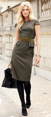 Tweed Velvet bow dress.