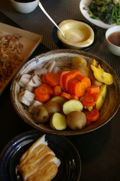 Simple Steamed Root-Vegetables Salad|蒸し野菜サラダ