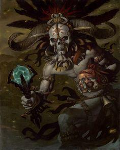 Gerald Brom - Witch Doctor (Diablo III)