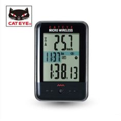 58.49$  Watch now - http://ali75y.worldwells.pw/go.php?t=32336027497 - CATEYE CC-MC200W Micro Wireless Cycling Computer Black/White back light lamp mountain bike multi function bicycle equipment 58.49$