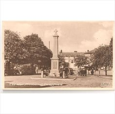 Norfolk Swaffham - The War Memorial - Vintage Postcard Listing in the Norfolk,England,Topographical,Postcards,Collectables Category on eBid United Kingdom Norfolk England, Old Photos, Postcards, United Kingdom, Sick, 1950s, War, Memories, Sayings