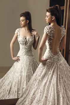 Rami Salamoun - if you love ornate, this gown might be for you. jannastyleblog.com