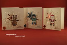 Cookie Cutter Christmas, Cookie Cutter Builder punch, Winter Wonder EF, Gold, Blue & Copper Foil, Teeny Tiny Wishes (sentiment)