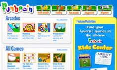Student Online Learning and Resource Site k-8th grade. Funbrain educational website